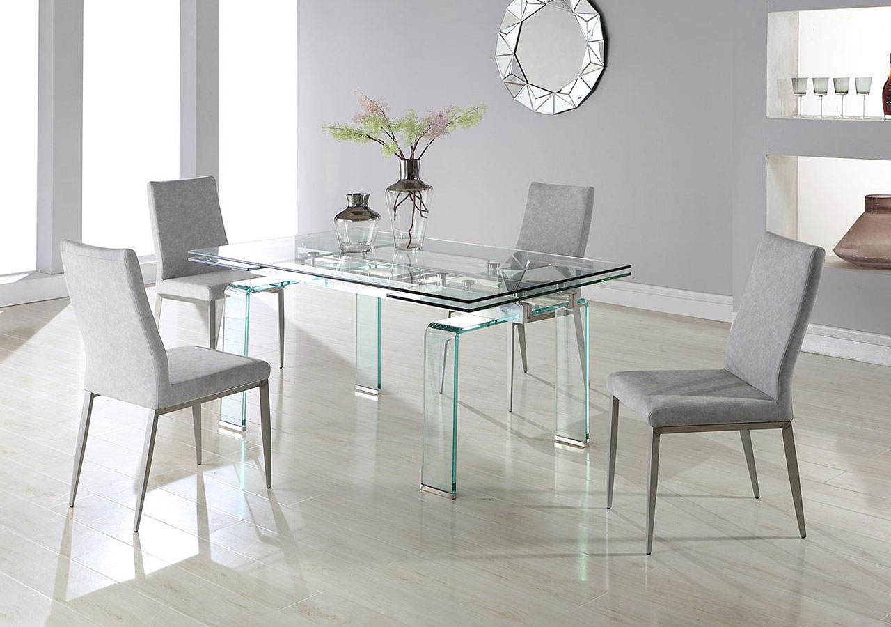 Millie Dining Room Set W/ Desiree Chairs Chintaly Imports Intended For Most Up To Date Desiree (View 6 of 20)
