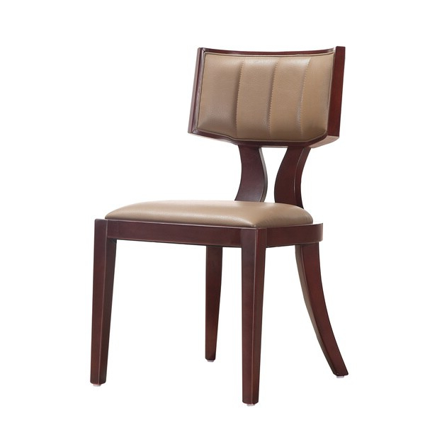 Most Recent Shop Zeus Leather Dining Chairs (set Of 2) – Overstock In Zeus (View 11 of 20)