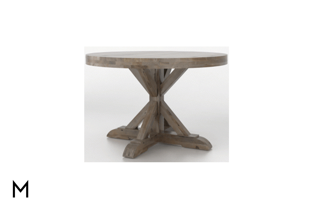 """Newest Tabor 48'' Pedestal Dining Tables Throughout X Pedestal 48"""" Round Dining Table (View 2 of 20)"""