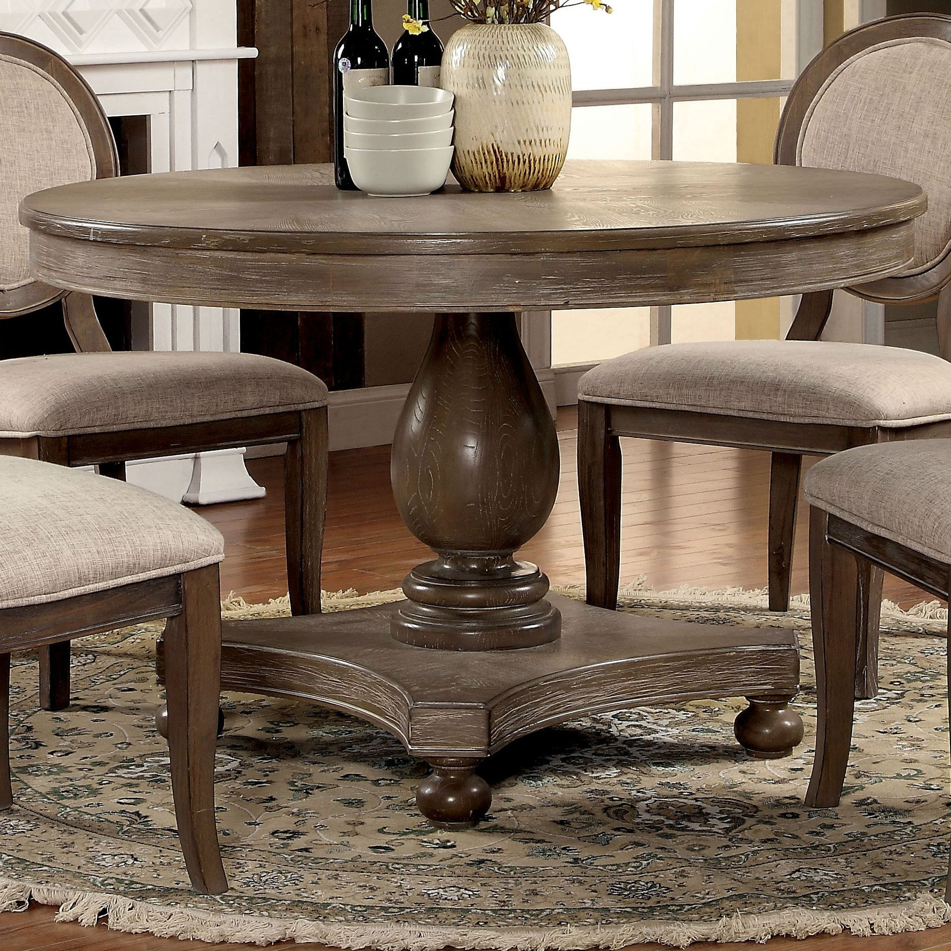 Overstock: Online Shopping – Bedding, Furniture With Regard To Most Current Tabor 48'' Pedestal Dining Tables (View 15 of 20)