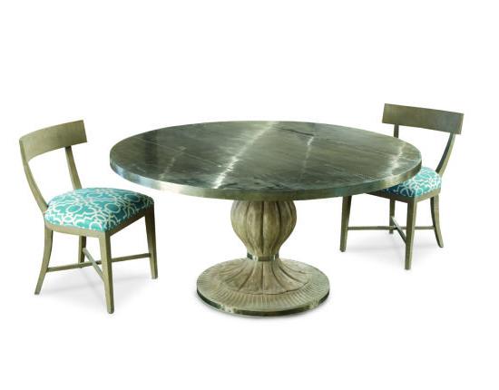 Pedestal Dining Table Inside Popular Servin 43'' Pedestal Dining Tables (View 5 of 20)
