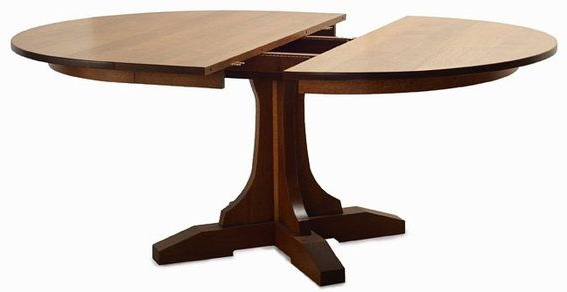 Pedestal Table With Regard To Tabor 48'' Pedestal Dining Tables (View 11 of 20)