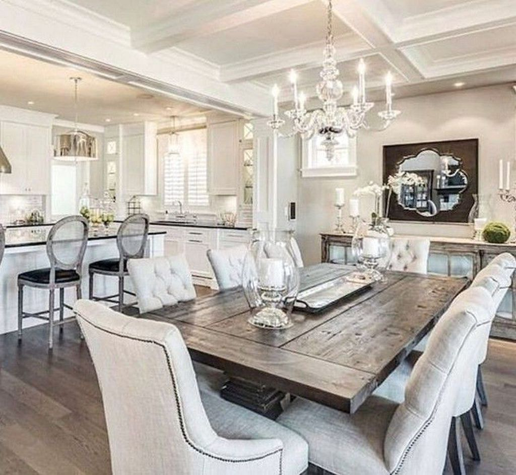 Popular Lewin Dining Tables With Regard To 30+ Relaxing Farmhouse Dining Room Design Ideas To Try (View 16 of 20)
