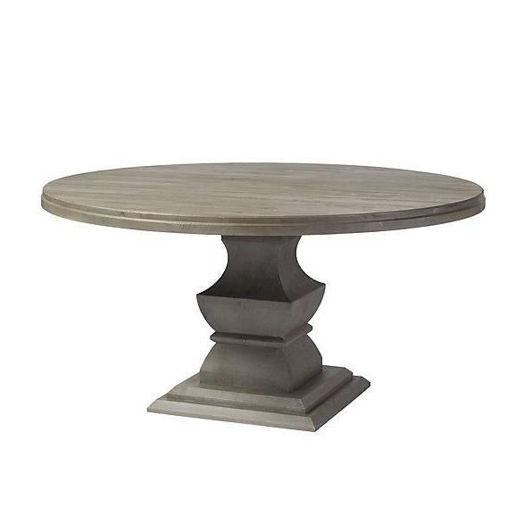 """Popular Servin 43'' Pedestal Dining Tables For Andrews Pedestal Dining Table – 60"""" Thoughts On This? (View 3 of 20)"""