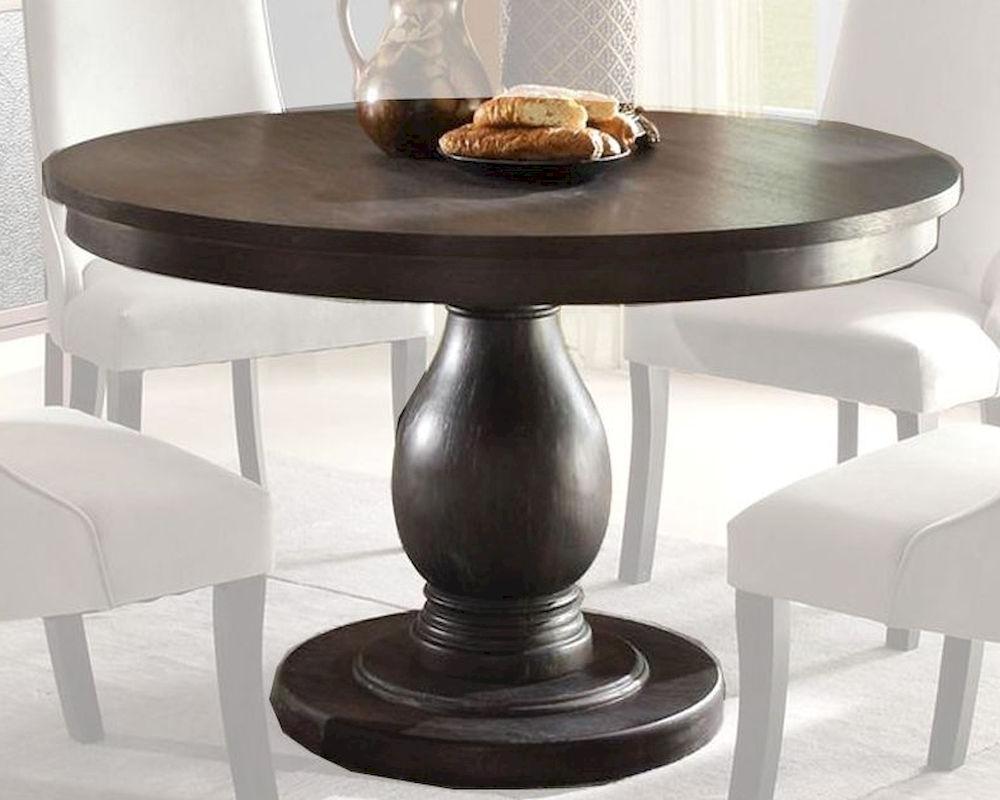 Popular Villani Pedestal Dining Tables Within Homelegance Pedestal Dining Table Dandelion El 2466 (View 10 of 20)