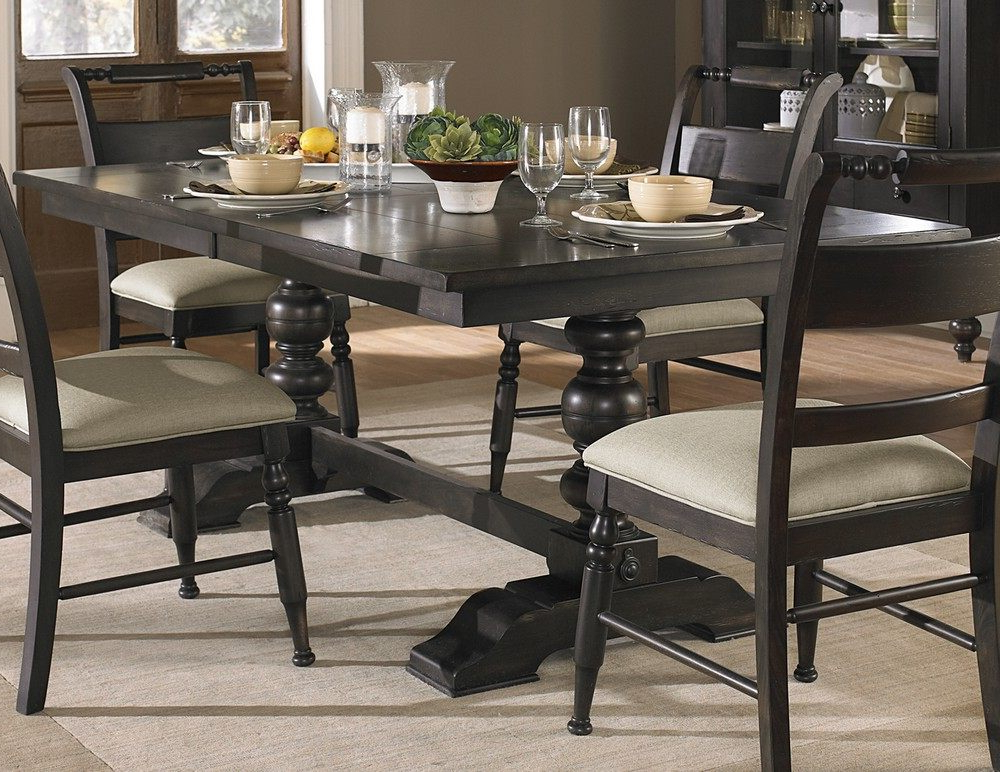 Preferred Desloge Counter Height Trestle Dining Tables Inside Dining Tables, Counter Height Tables, Kitchen Tables (View 5 of 20)