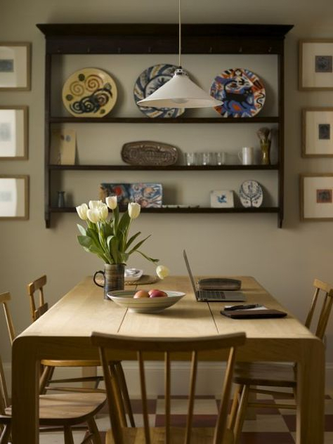Preferred Lewin Dining Tables Inside Simplicity In The Highlands; Angie Lewin's Home (with (View 7 of 20)