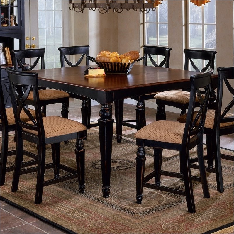 Recent Hillsdale Northern Heights Counter Height Dining Table In Within Desloge Counter Height Trestle Dining Tables (View 9 of 20)