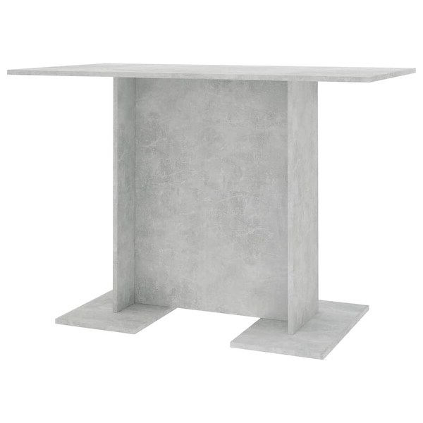 """Shop Vidaxl Dining Table Concrete Grey 43.3""""x23.6""""x29.5 With Regard To 2019 Crilly (View 19 of 20)"""