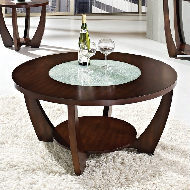 """Steve Silver Company Rafael Cocktail Table In Cherry – Rf300c Within Favorite Dionara 56"""" L Breakroom Tables (View 6 of 20)"""