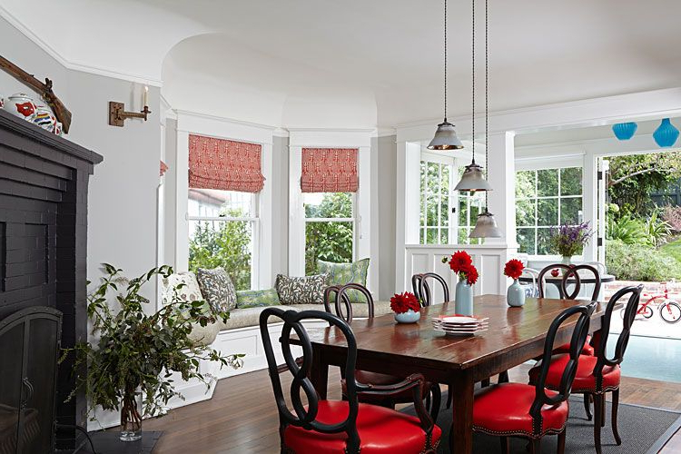 Transitional Dining Room With Regard To Most Current Lewin Dining Tables (View 12 of 20)