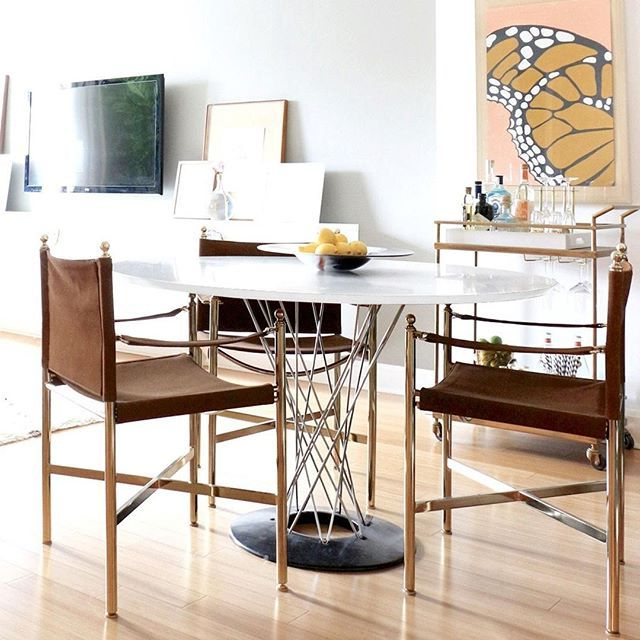Vortex Table Lures You In With Its Radiating Spiral Within Well Known Tudor City 28'' Dining Tables (View 9 of 20)