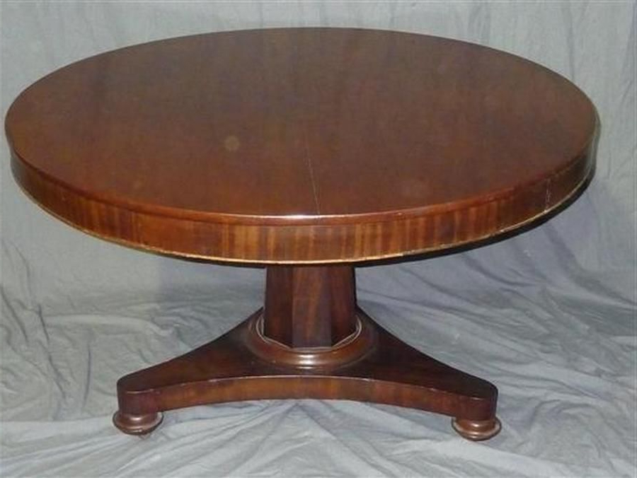 Well Known A Mid Victorian Mahogany Centre Pedestal Dining Table Regarding Villani Pedestal Dining Tables (View 6 of 20)