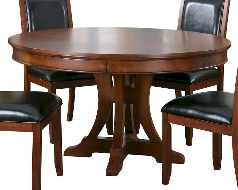 Well Known Villani Pedestal Dining Tables Throughout Homelegance Pedestal Dining Table Avalon El1205 (View 4 of 20)