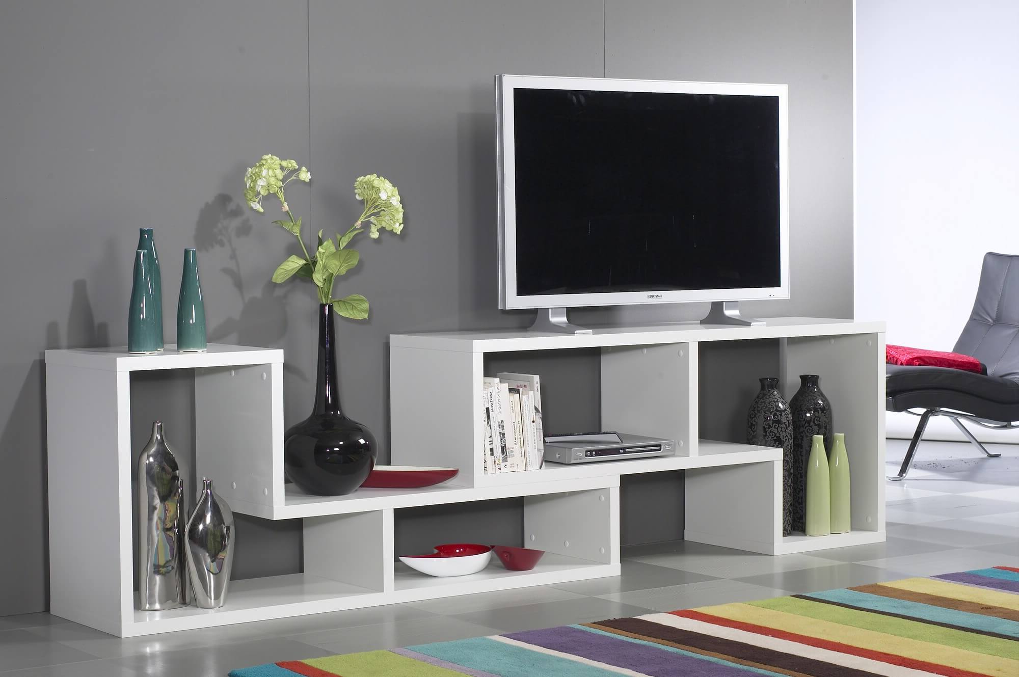 15 6 Cube Bookcases, Shelves And Storage Options Intended For Horizontal Or Vertical Storage Shelf Tv Stands (View 11 of 20)