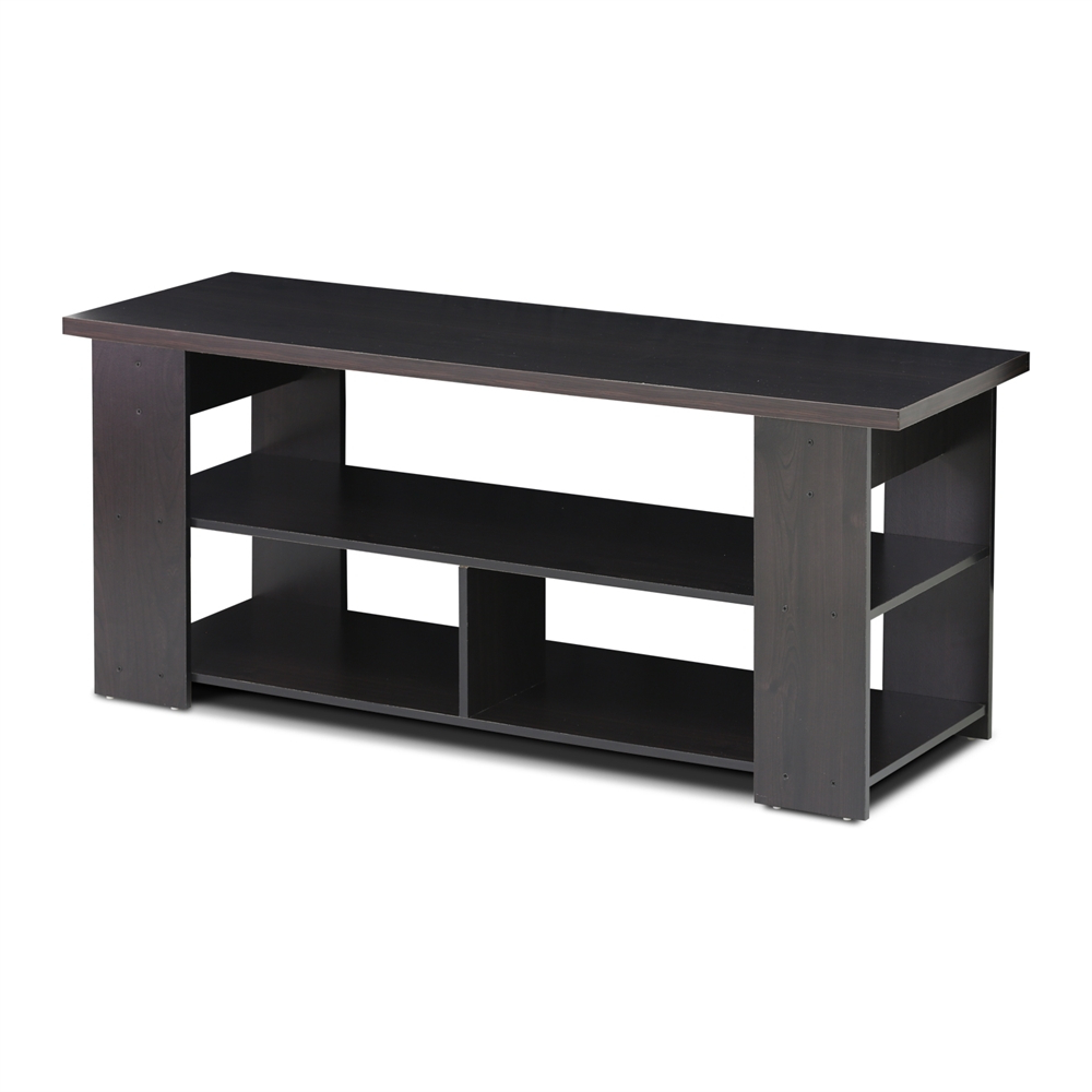 15118 Jaya Tv Stand Up To 50 Inch, Espresso Inside Furinno Jaya Large Entertainment Center Tv Stands (View 1 of 20)