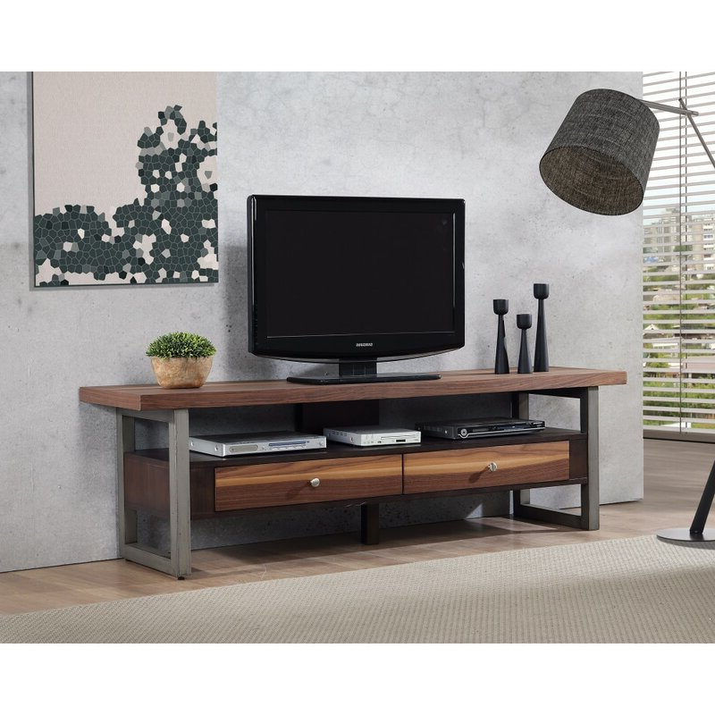 """17 Stories Emilio Solid Wood Floating Tv Stand For Tvs Up Within Griffing Solid Wood Tv Stands For Tvs Up To 85"""" (View 16 of 20)"""