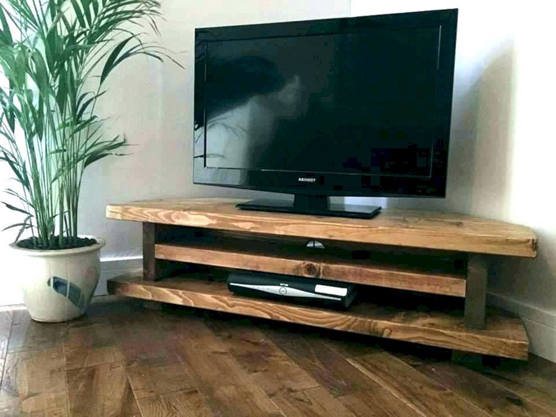 20 Best Diy Entertainment Center Ideas For Cozy Living Throughout Avalene Rustic Farmhouse Corner Tv Stands (View 13 of 20)