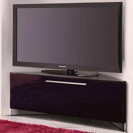 20 Ideas Of Black High Gloss Corner Tv Unit   Tv Cabinet For Samira Corner Tv Unit Stands (View 7 of 20)
