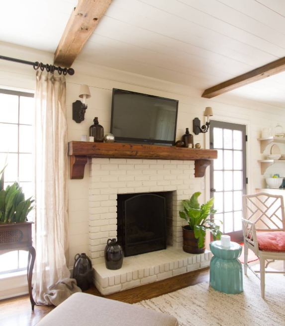 """37+ Creative Diy Corner Tv Stand Designs And Ideas For In Rustic Corner 50"""" Solid Wood Tv Stands Gray (View 15 of 20)"""