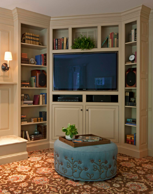 37+ Creative Diy Corner Tv Stand Designs And Ideas For In Samira Corner Tv Unit Stands (View 18 of 20)