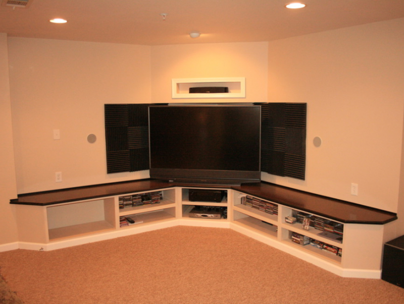 37+ Creative Diy Corner Tv Stand Designs And Ideas For With Regard To Priya Corner Tv Stands (View 15 of 20)