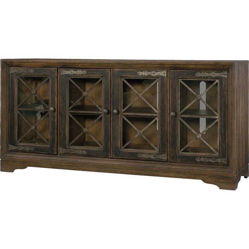 """3d Brown Hill Country Tv Stand For Tvs Up To 85 