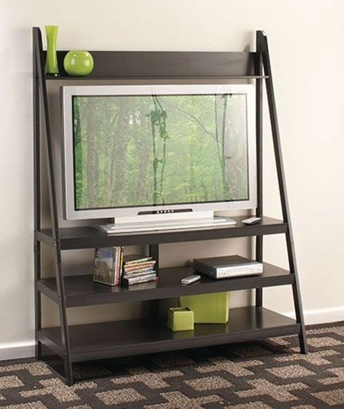 4 Decorative Tv Stand Design Ideas – Interior Design Regarding Tiva White Ladder Tv Stands (View 6 of 20)