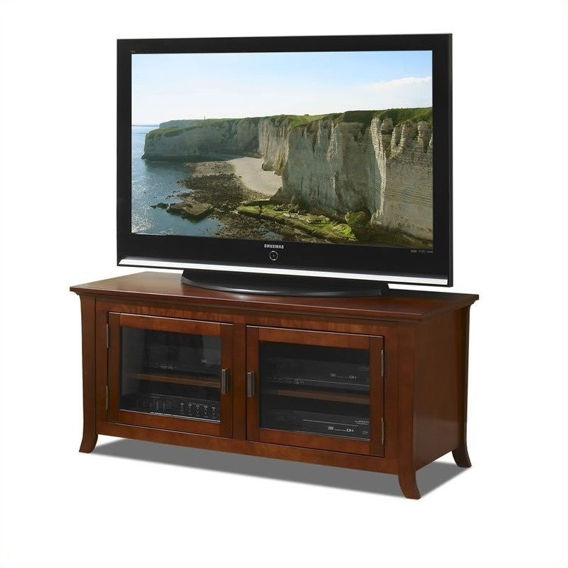 50 Inch Wide Plasma/lcd Tv Stand In Walnut – Pal50 Within Indi Wide Tv Stands (View 4 of 20)