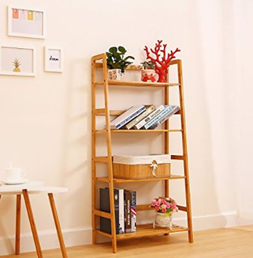 50 Ladder Shelf Image Ideas – White Leaning Ladder Pertaining To Tiva White Ladder Tv Stands (View 14 of 20)