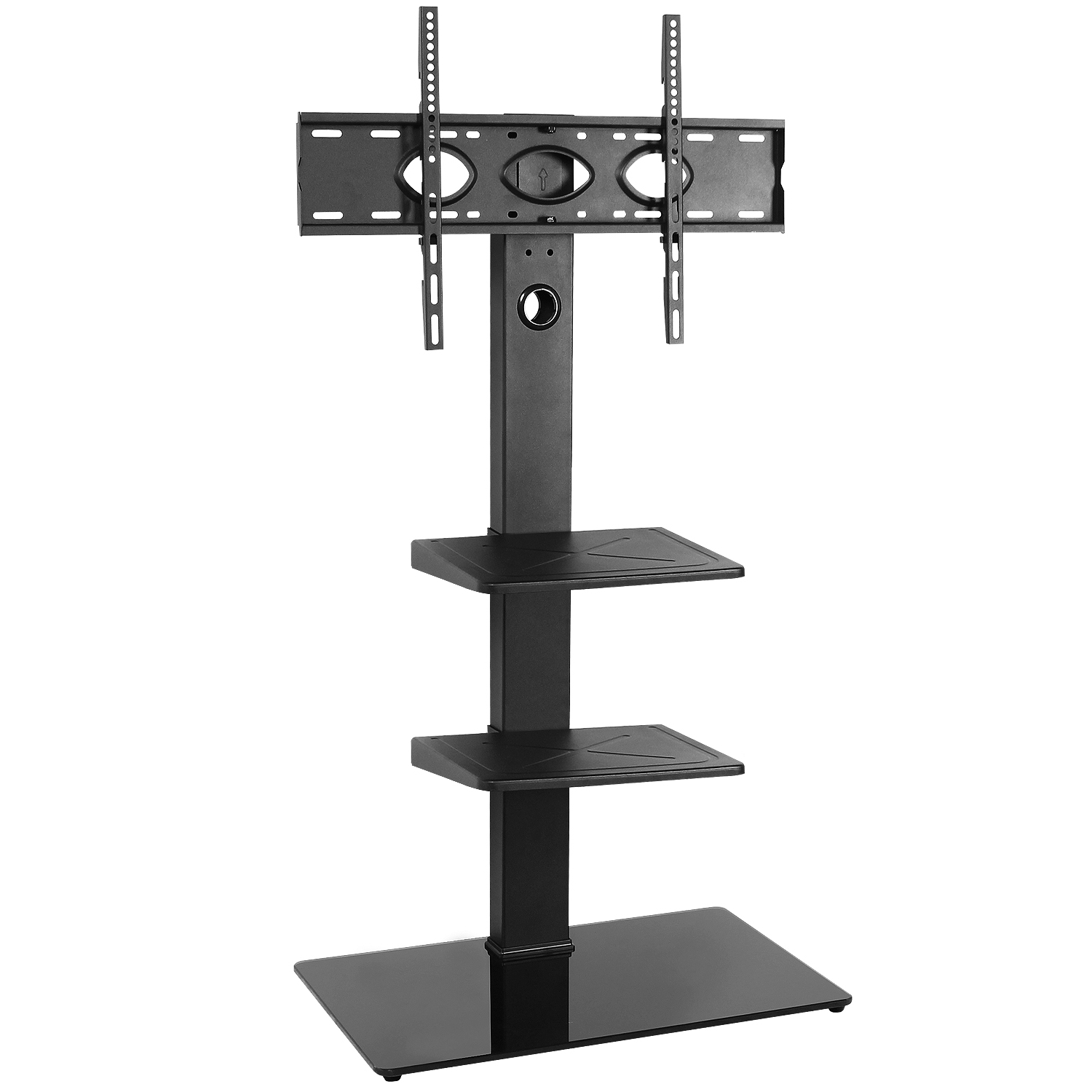 5rcom Floor Corner Tall Tv Stand With Swivel Mount For 32 Intended For Modern Floor Tv Stands With Swivel Metal Mount (View 8 of 20)