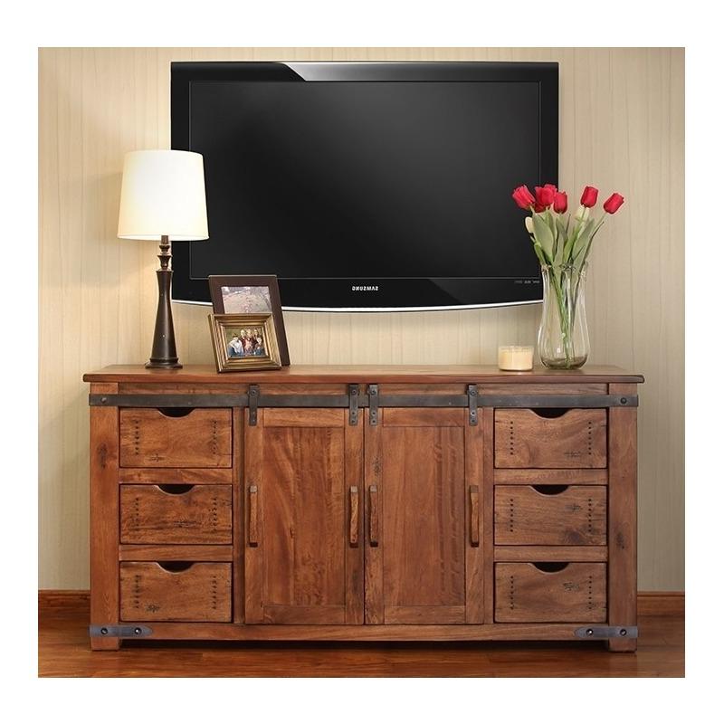 """60"""" Tv Stand W/6 Drawer, 1 Door W/2 Shelves Regarding Millen Tv Stands For Tvs Up To 60"""" (View 8 of 20)"""