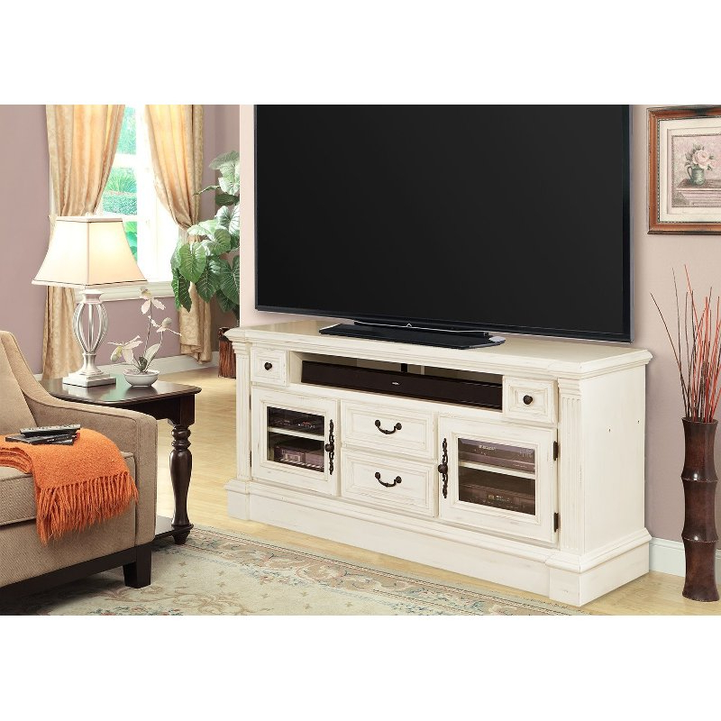 """65 Inch Burnished White Tv Stand – Fremont   Rc Willey With Regard To Totally Tv Stands For Tvs Up To 65"""" (View 11 of 20)"""