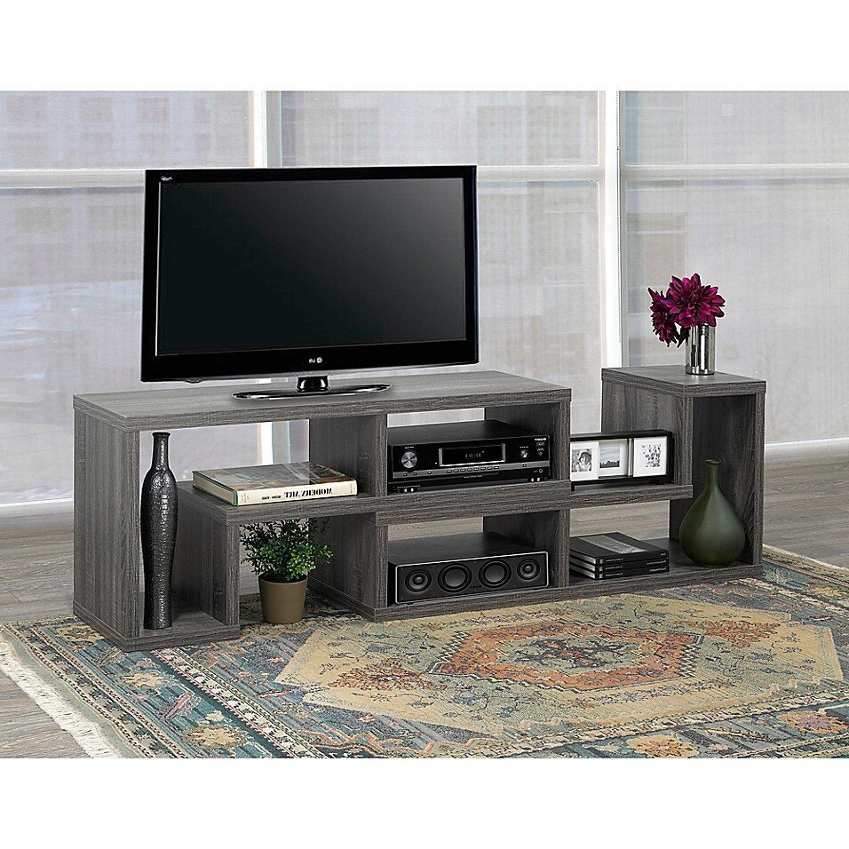 70 Inch Tv Stand Walmart   [+] Freedom With Regard To Better Homes & Gardens Herringbone Tv Stands With Multiple Finishes (View 16 of 20)