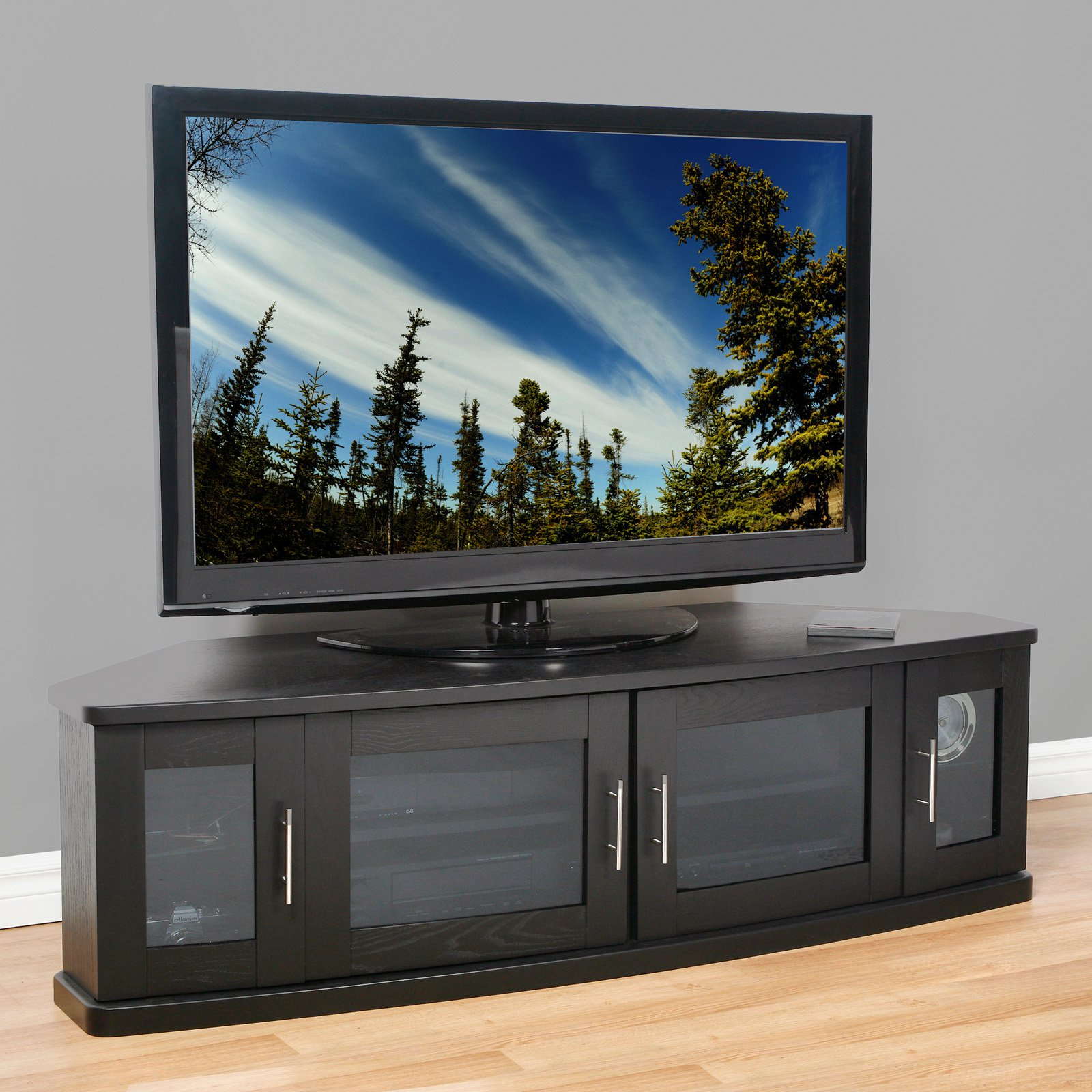 75 Inch Tv Stands – Home Ideas In Bromley Oak Corner Tv Stands (View 11 of 20)