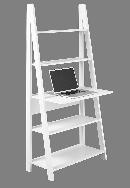 99+ Black Ladder Desk – Rustic Home Office Furniture Check Inside Tiva White Ladder Tv Stands (View 7 of 20)