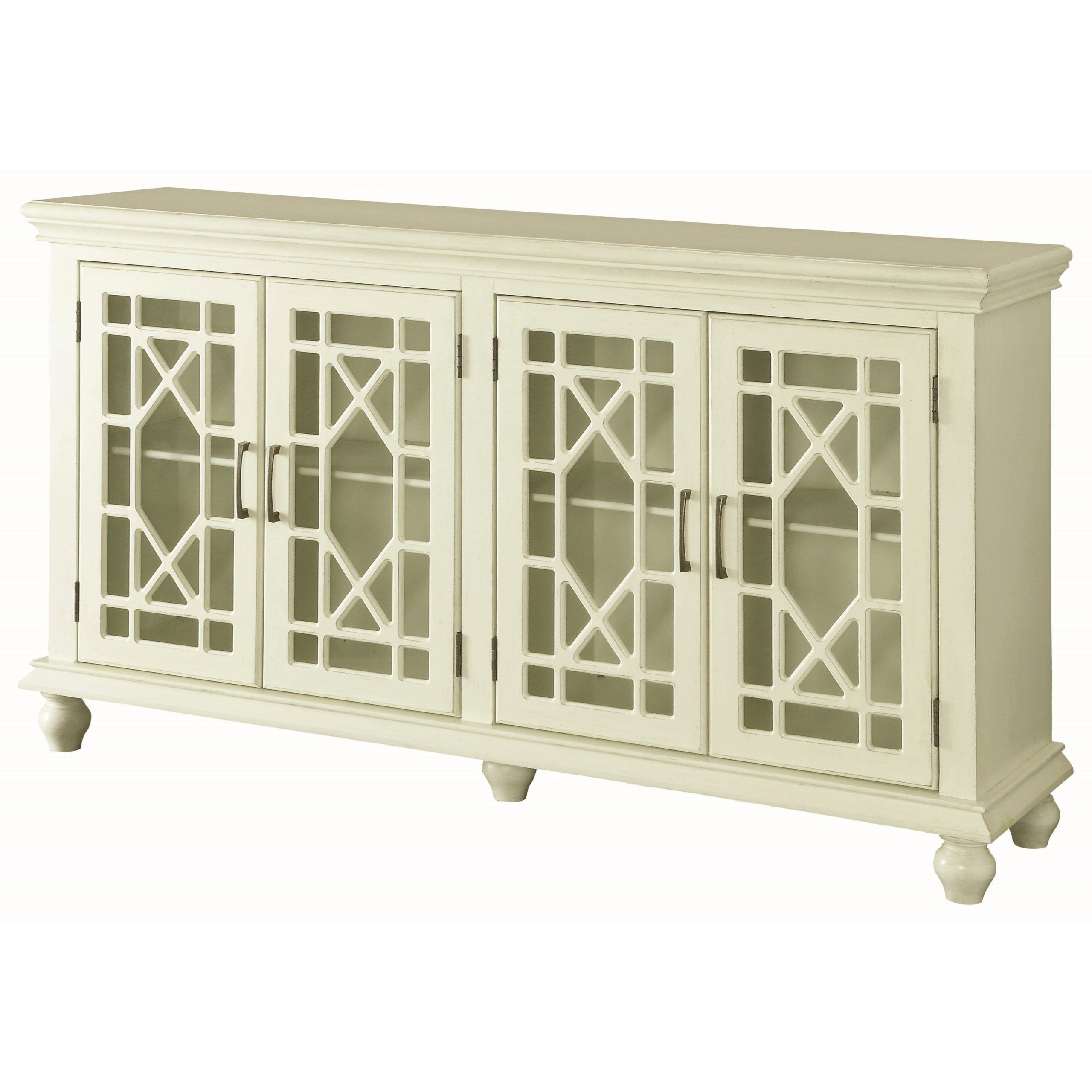Accent Furniture Cabinets In 2020   Coaster Furniture With Rey Coastal Chic Universal Console 2 Drawer Tv Stands (View 4 of 20)