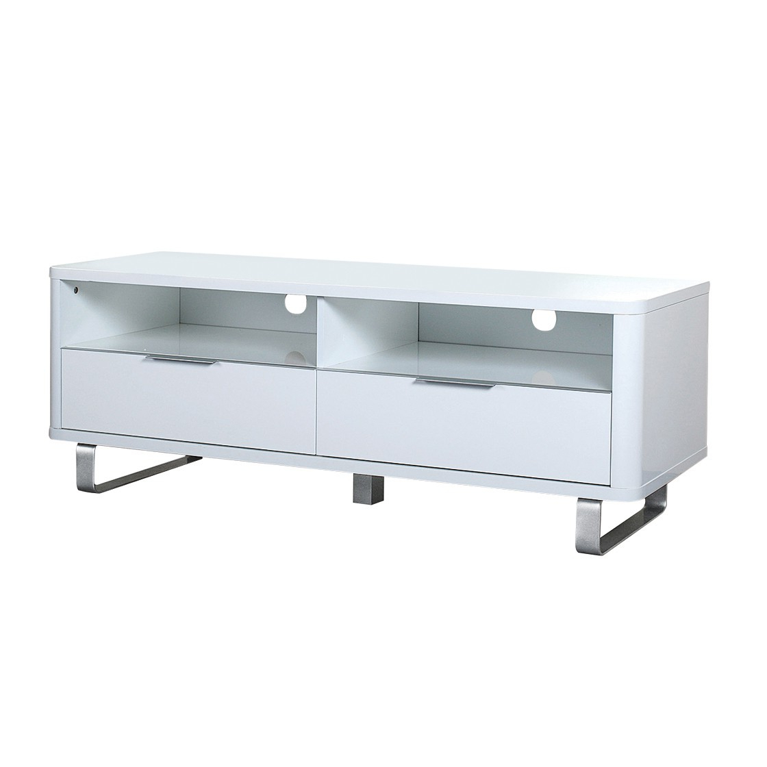 Accent Sideboard White – Furnmart® With Tiva Ladder Tv Stands (View 10 of 11)