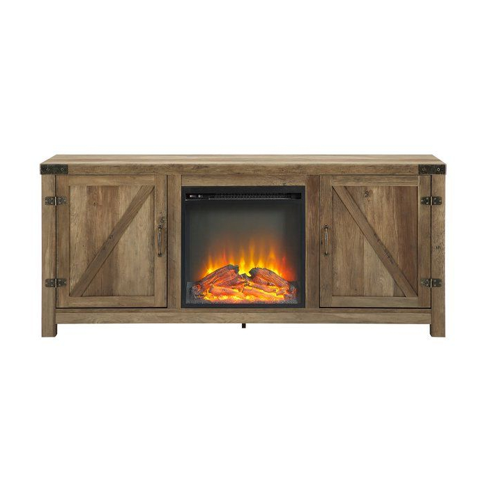 """Adalberto Tv Stand For Tvs Up To 65"""" With Fireplace Inside Adalberto Tv Stands For Tvs Up To 78"""" (View 5 of 20)"""