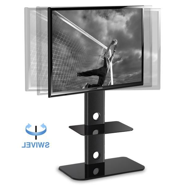 Adjustable Height Tv Stand With Swivel Mount Component For Swivel Floor Tv Stands Height Adjustable (View 12 of 20)