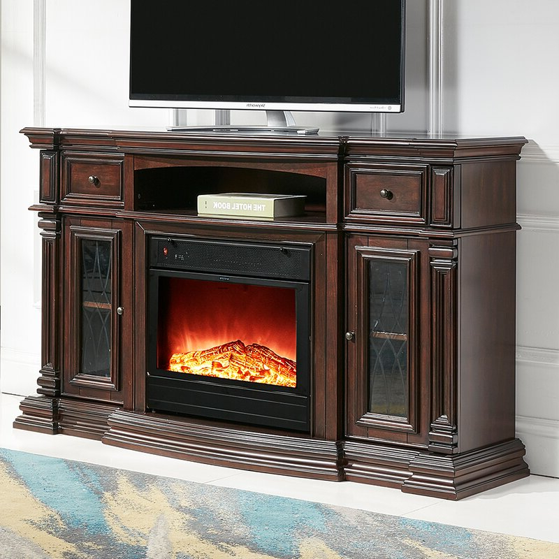 """Alcott Hill® Raya Tv Stand For Tvs Up To 70"""" With Electric Throughout Kinsella Tv Stands For Tvs Up To 70"""" (View 8 of 20)"""