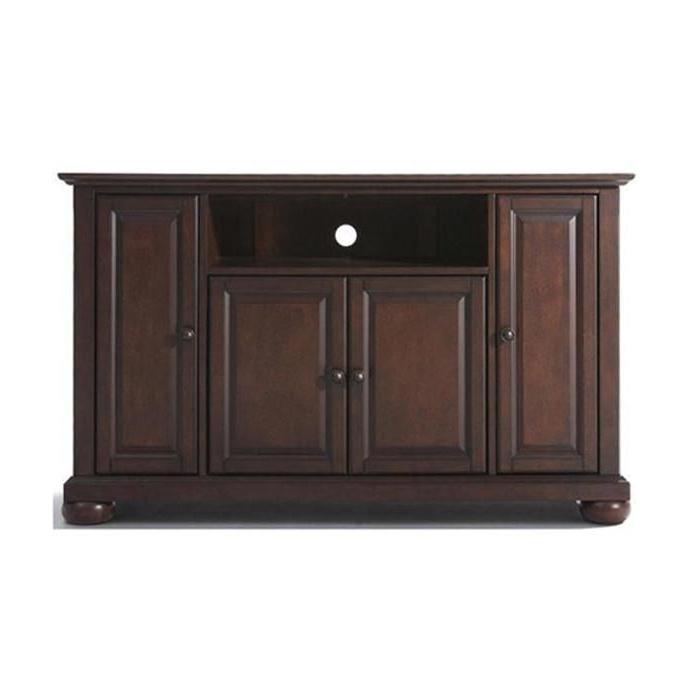 "Alexandria 48"" Tv Stand In Mahogany | Nebraska Furniture Pertaining To Alexandria Corner Tv Stands For Tvs Up To 48"" Mahogany (View 14 of 20)"