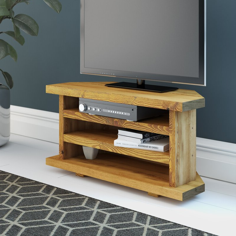 """Alpen Home Del City Solid Wood Corner Tv Stand For Tvs Up Within Orrville Tv Stands For Tvs Up To 43"""" (View 12 of 20)"""