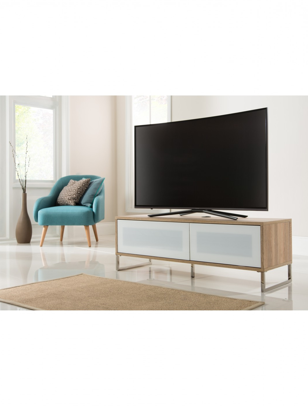 Alphason Helium 1200mm Tv Stand Adhe1200 Lo   121 Tv Mounts For Compton Ivory Extra Wide Tv Stands (View 3 of 20)
