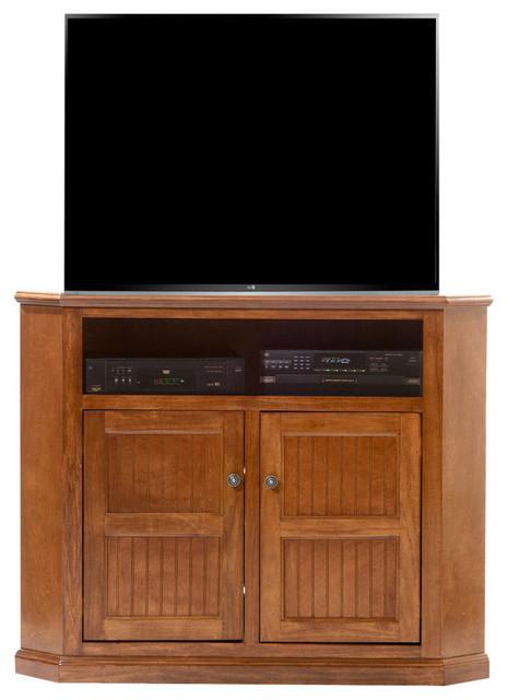 American Heartland Poplar Tall Corner Tv Stand Inside Naples Corner Tv Stands (View 5 of 20)
