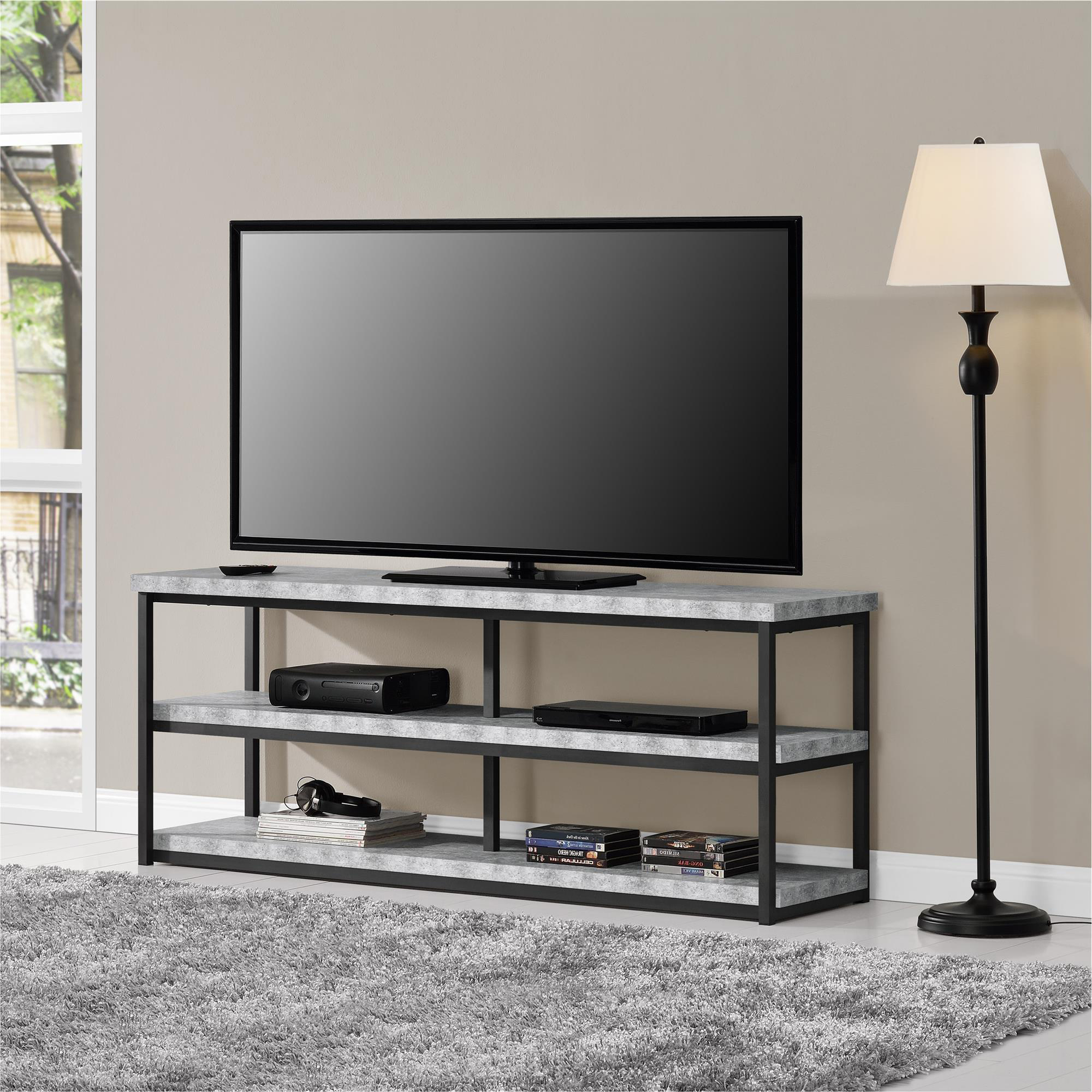 """Ameriwood Home Ashlar Tv Stand For Tvs Up To 65"""", Multiple With Regard To Mainstays Tv Stands For Tvs With Multiple Colors (View 1 of 20)"""