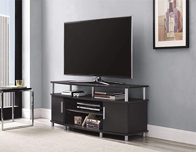 """Ameriwood Home Carson Tv Stand For Tvs Up To 50"""" Wide For Colleen Tv Stands For Tvs Up To 50"""" (View 7 of 20)"""