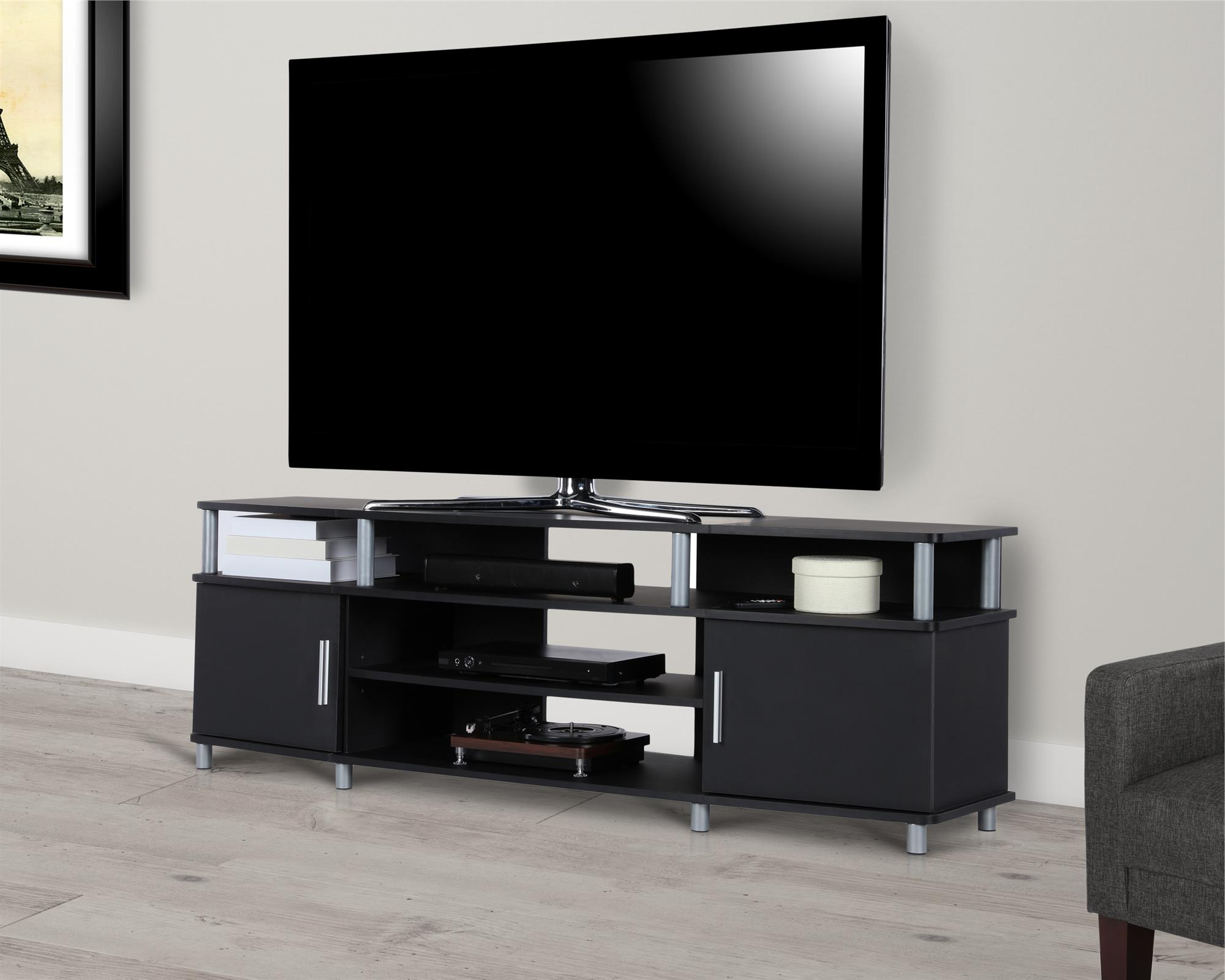 """Ameriwood Home Carson Tv Stand For Tvs Up To 70"""", Multiple Intended For Mainstays Tv Stands For Tvs With Multiple Colors (View 8 of 20)"""