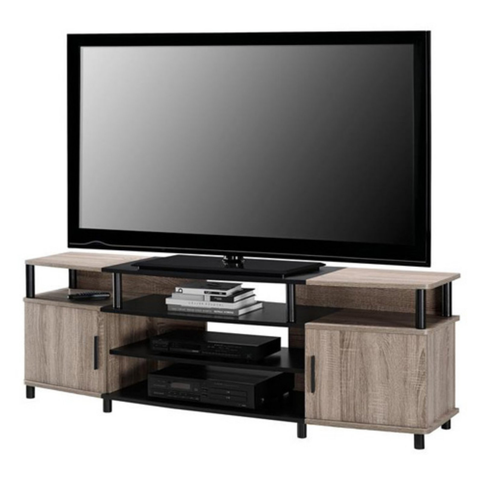 """Ameriwood Home Carson Tv Stand For Tvs Up To 70"""", Multiple With Regard To Mainstays Tv Stands For Tvs With Multiple Colors (View 3 of 20)"""