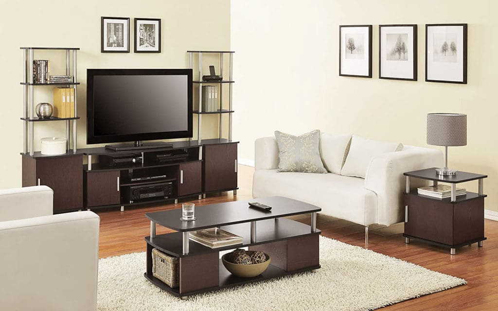 Ameriwood Home Carson Tv Stand – Sleepy Home In Carson Tv Stands In Black And Cherry (View 16 of 20)